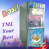 TML soft ice cream making machine with five nozzles