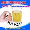 TP-208P Multi mixing cup & disposable espresso cups