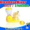 TP203Multi-function fruit blender and mixer double blade blender