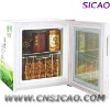 Table Glass Beverage Refrigerator, Deep Freezer with OEM Branding