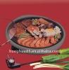 Teppan yaki with hot pot