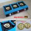 Three Burner Brass Gas Stove(RD-GT012-1)