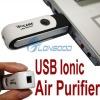 USB Silent Ionic Ionizer Fresh Ozone Air Purifier