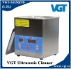 VGT-1613QTD 1.3L Glass Ultrasonic Cleaner (Timer,heater with digital display)