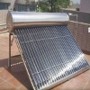 Vacuum Tubes Solar Water Heating with Galvanized Steel Bracket