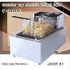 automatic deep fryer DF-81 counter top electric 1 tank fryer(1 basket)