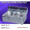 automatic fryer machine 2011 new counter top electric 2-tank fryer(2-basket)