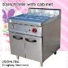 bain marie equipment JSGH-784 bain marie with cabinet ,kitchen equipment