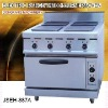 bakery electric oven, electric range with 4-burner and oven