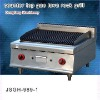 bbq grill, DFGH-989-1 counter top gas lava rock grill