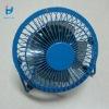 blue USB metal electric fan