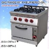 camping gas oven gas range with 4-burner and oven