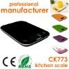camry kitchen scale high precision digital kitchen scale colorful ultrathin design
