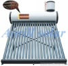 color steel copper coil pre-heated solar water heater