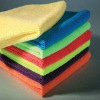 colorful microfiber cleaning towel