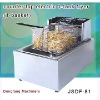 commercial induction fryer DF-81 counter top electric 1 tank fryer(1 basket)
