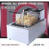 commercial kitchen fryer DF-81 counter top electric 1 tank fryer(1 basket)