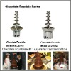 commerical stainless steel free standing electric chocolate fountain for hotel and restaurant