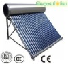 compact non-pressurized solar water heater,200L,stainless steel tank,58*1800mm three layer vacuum tube,Mayca Solar--Manufacturer