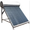 compact solar hot water heating system