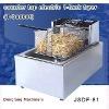 counter pressure fryer DF-81 counter top electric 1 tank fryer(1 basket)