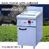 counter top cooking equipment JSGH-974 bain marie with cabinet ,kitchen equipment