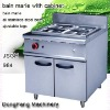 counter top cooking equipment JSGH-984 bain marie with cabinet ,food machine
