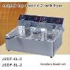 deep fryer DF-6L-2 counter top electric 2-tank fryer(2-basket)