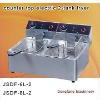 donut fryer DF-6L-2 counter top electric 2-tank fryer(2-basket)