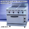 double burner electric range, JSEH-887A electric range with 4-burner and oven