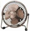 electric Mini metal power fan chrom painting coating