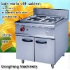 electric bain marie cooking equipment JSGH-984 bain marie with cabinet ,food machine