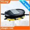 electric bbq for 8 persons with stone plate