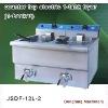 electric chicken pressure fryer DF-12L-2 counter top electric 1 tank fryer(1 basket)