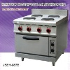 electric cooker oven, electric range with 4 burner and oven