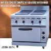 electric cooker oven, electric range with 4-burner and oven