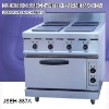 electric cooking range, JSEH-887A electric range with 4-burner and oven