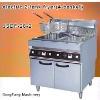 electric deep fat fryer DF-26-2 electric 2-tank fryer(4-basket)