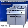 electric deep fryer, 2 tank fryer(2-basket) with cabinet