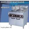 electric deep fryer, electric 2-tank fryer(4-basket)