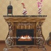 electric fireplace mantel