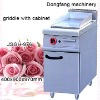 electric griddleelectric fryer, high capacity carding machinery