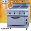 electric oven, JSEH-887A electric range with 4-burner and oven