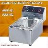 electric pressure fryer Latest design, counter top electric 2 tank fryer(2 basket)