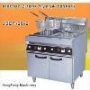 electric pressure fryer, electric 2-tank fryer(4-basket)