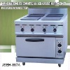 electric range, JSEH-887A electric range with 4-burner and oven