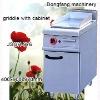 electric range griddle JSGH-976 griddle with cabinet ,kitchen equipment