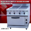 electric range oven, JSEH-887A electric range with 4-burner and oven