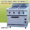 electric range with 4-burner and oven