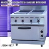 electric range with burner, electric range with 4-burner and oven